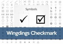 Wingdings Tick
