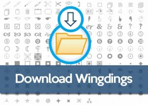 Download Wingdings