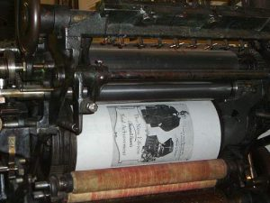 Printing Press - What is Wingdings?