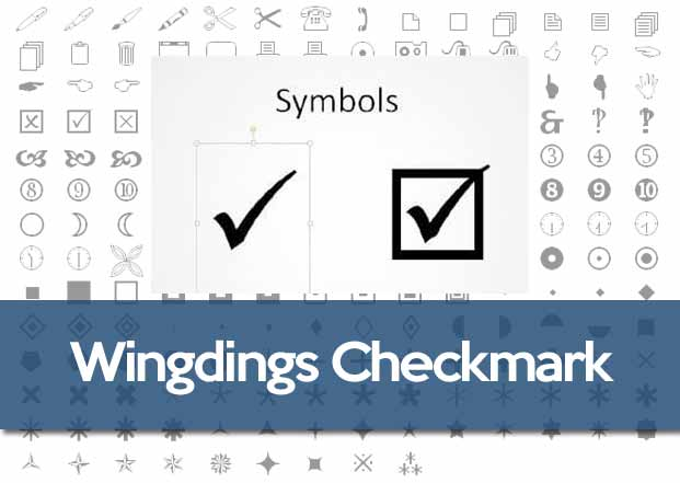 Wingdings Checkmark Or Tick Box Symbol History And Ascii Code