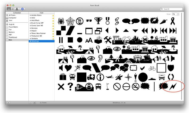 download webdings