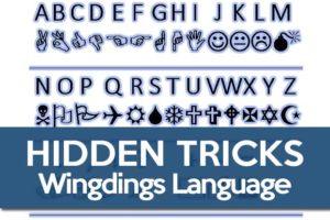 Wingdings Tricks